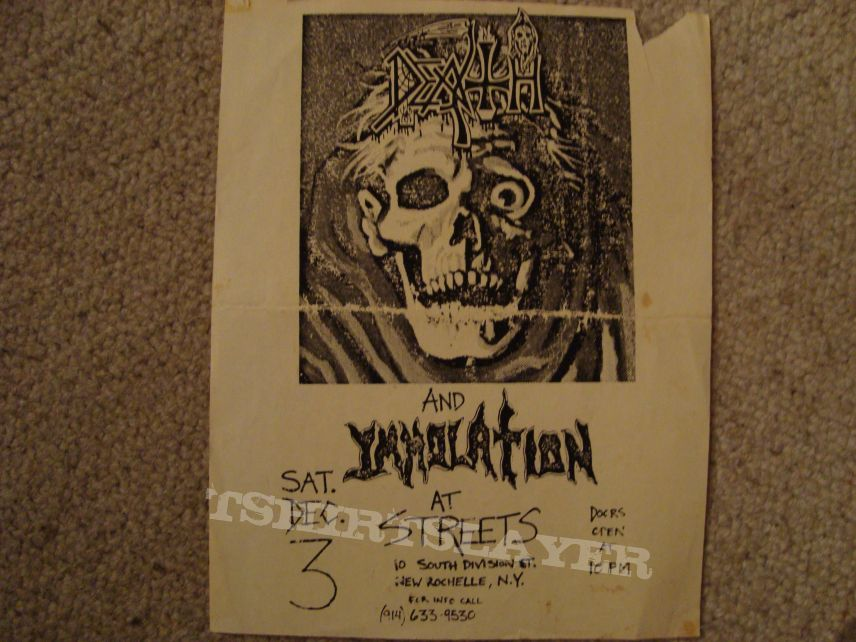 Other Collectable - DEATH - tour