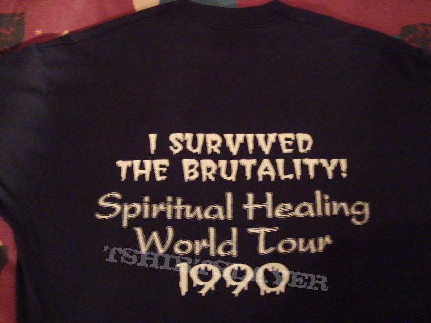 TShirt or Longsleeve - DEATH - tour