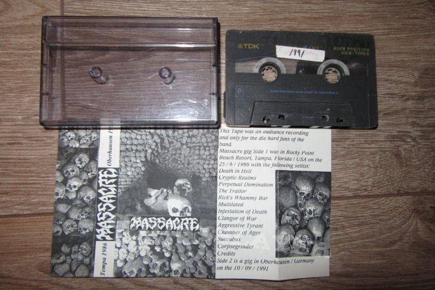 Massacre live tape