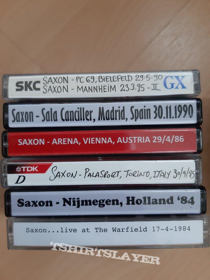 28 Saxon live tapes