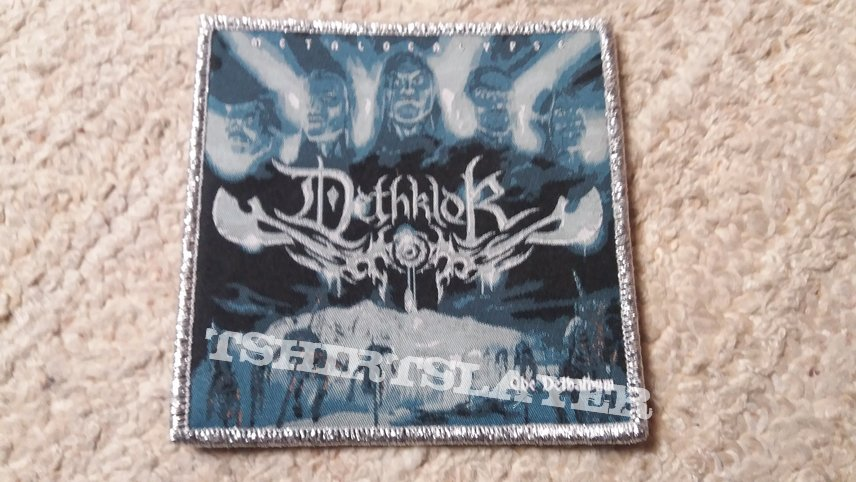 Dethklok Dethalbum patch (silver)