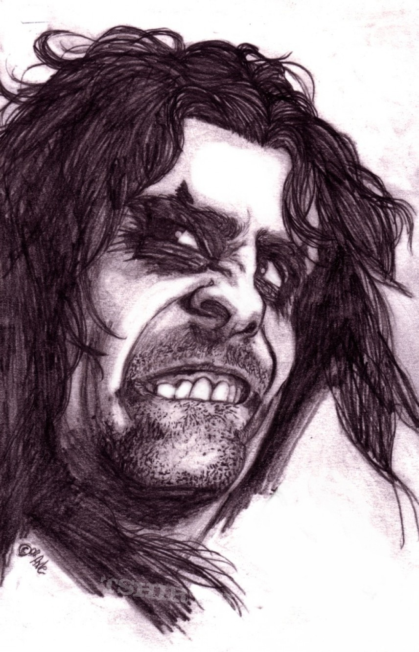 Alice Cooper drawing (2000)