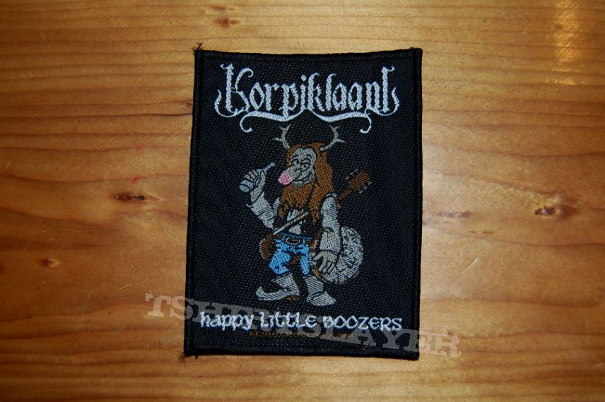 Korpiklaani - Happy Little Boozers patch