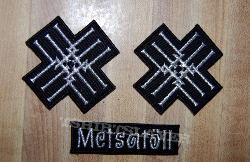 Metsatoll concert patches 10/14/14