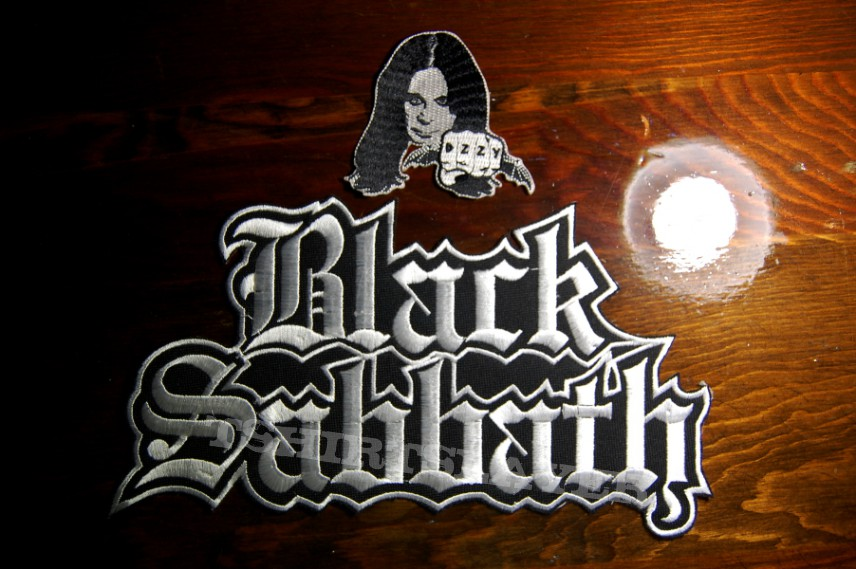 Black Sabbath & Ozzy patches