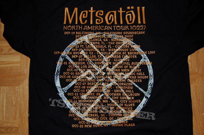 Metsatoll concert shirt 10/14/14