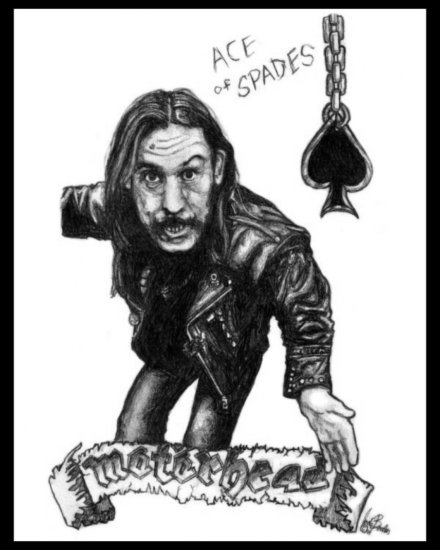 Lemmy drawing (2001)