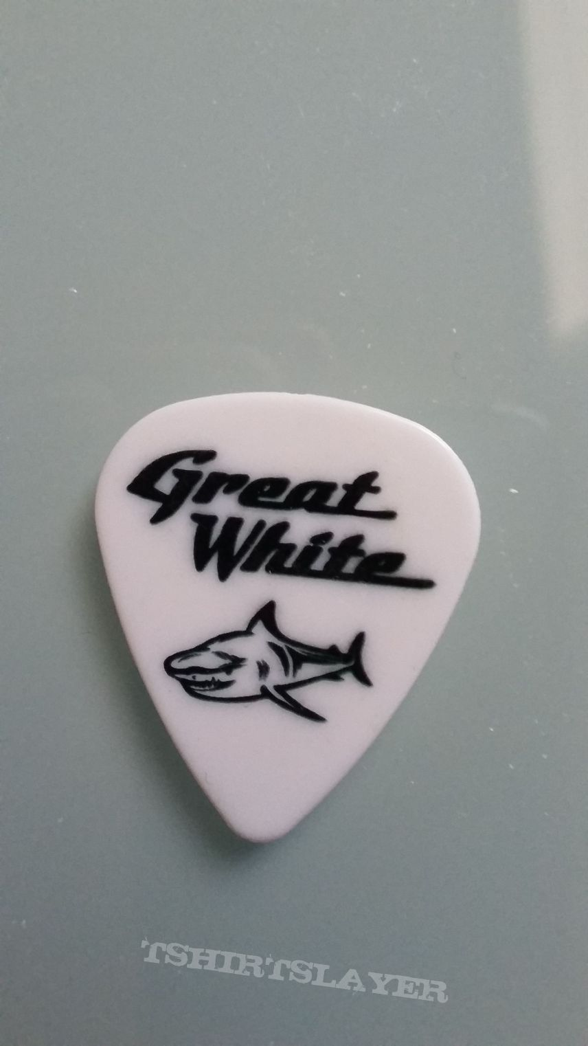 Great White - guitar pick