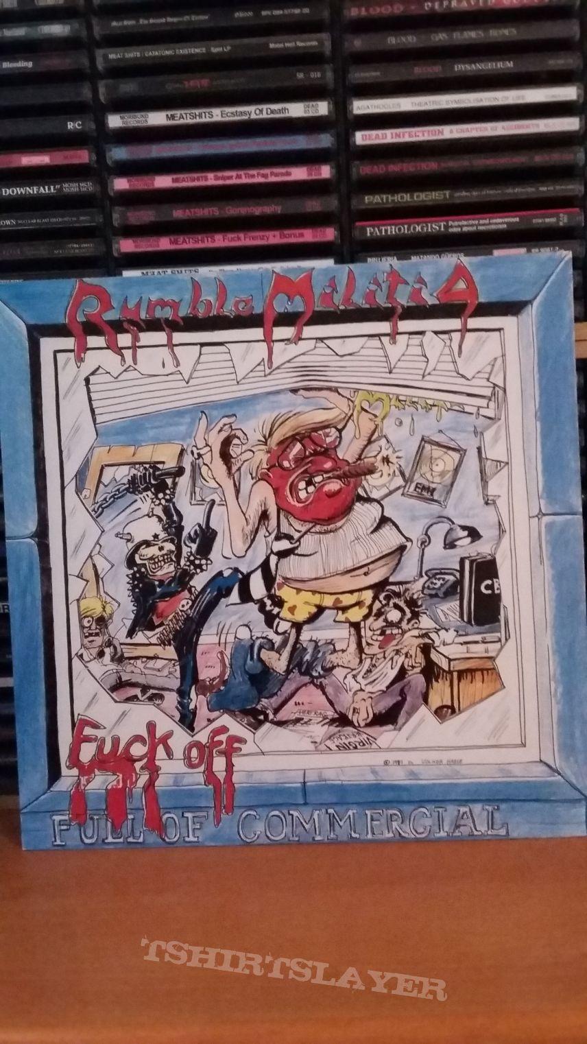 Rumble militia - fuck off commercial