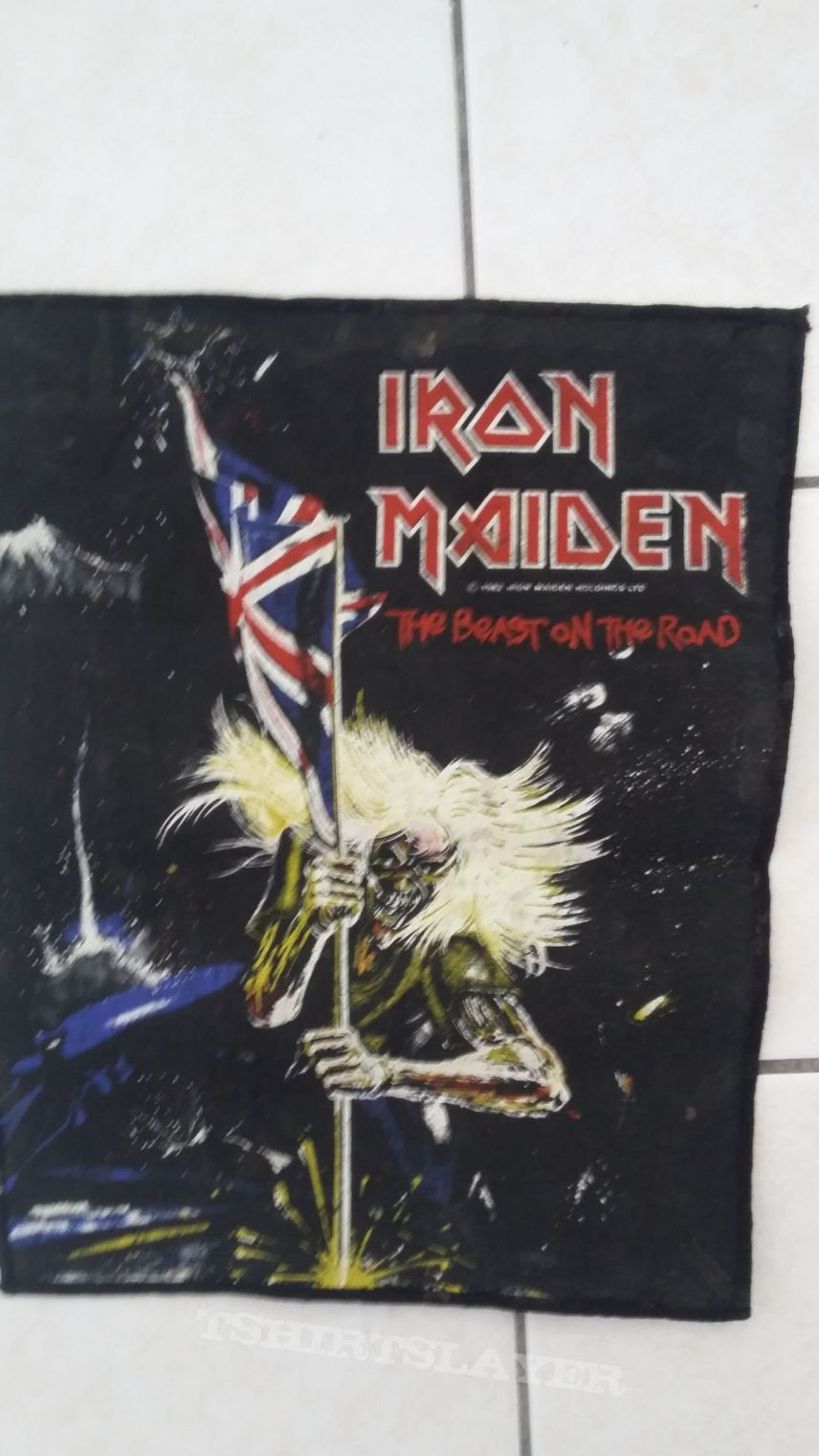 iron Maiden - OG backpatch 82