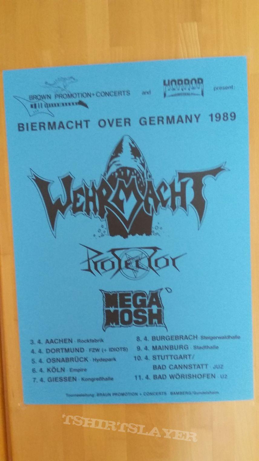 Wehrmacht - tourposter