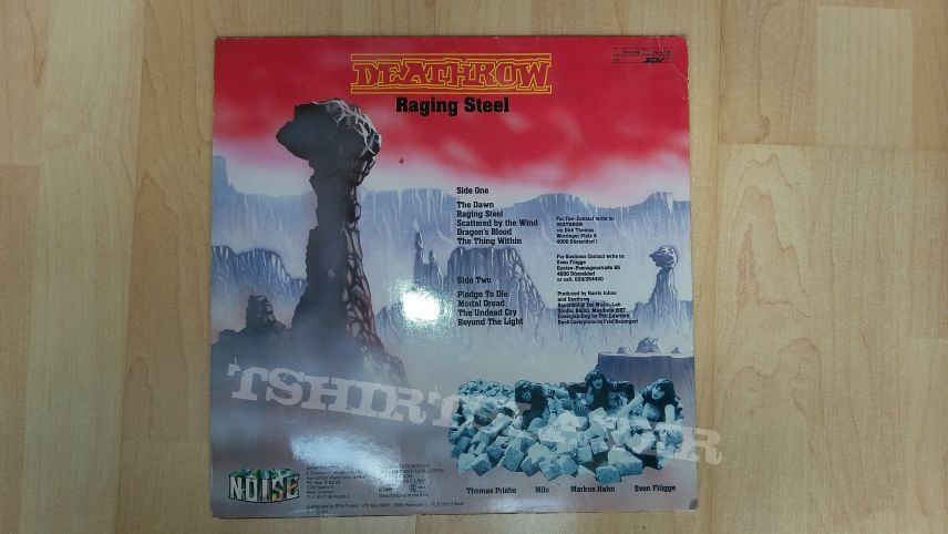 deathrow - raging steel