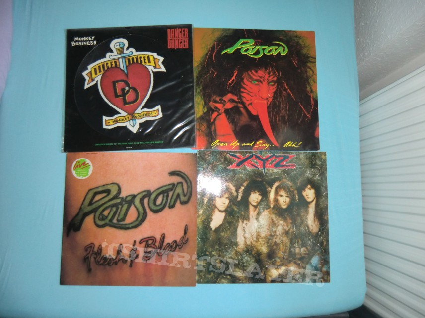 Other Collectable - Some more Vinyl - Hardrock & Hairmetal