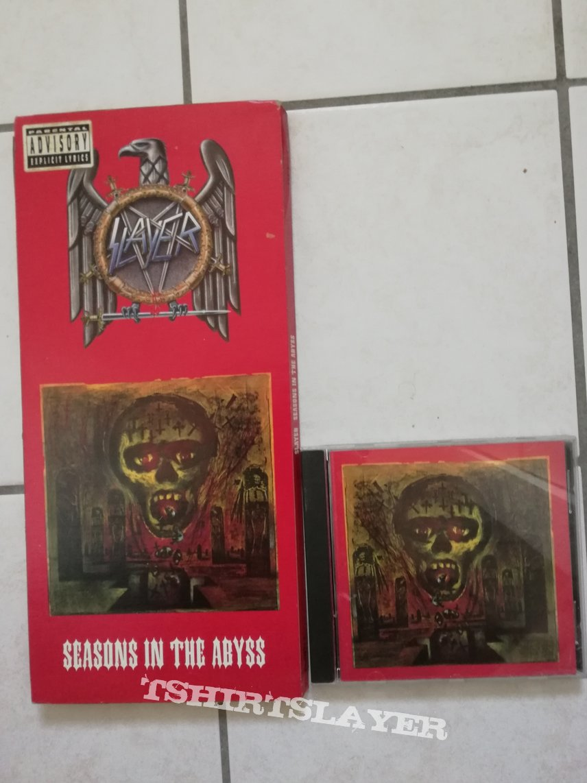 Slayer - seasons in the abyss long box