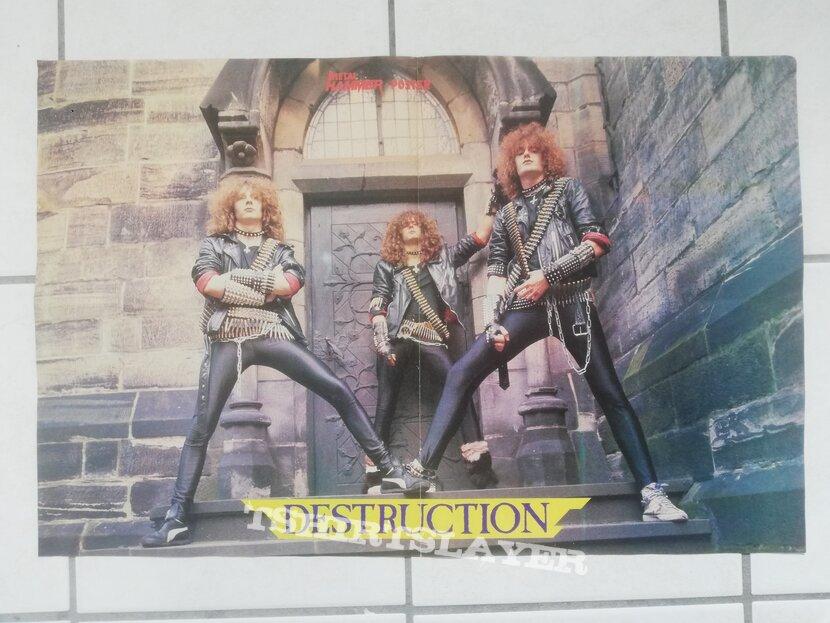 Destruction - old poster
