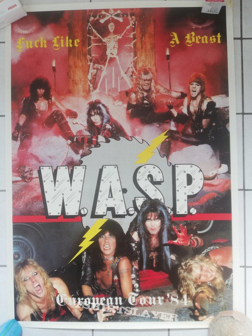 W.A.S.P - Tour poster 1984