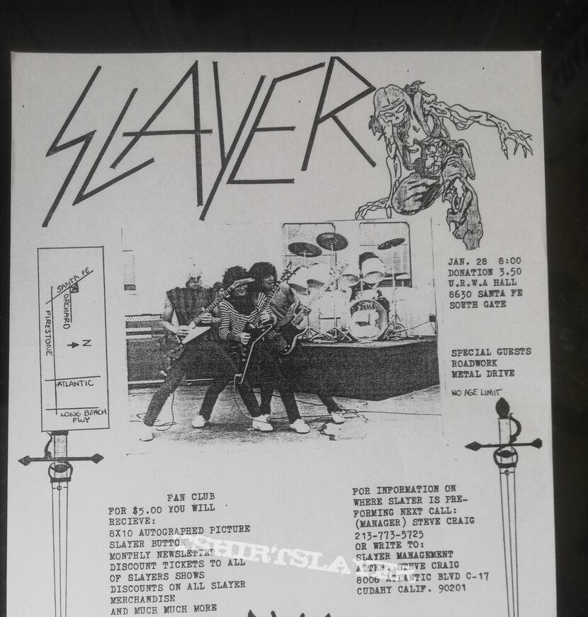 Slayer - Show no mercy OG 83