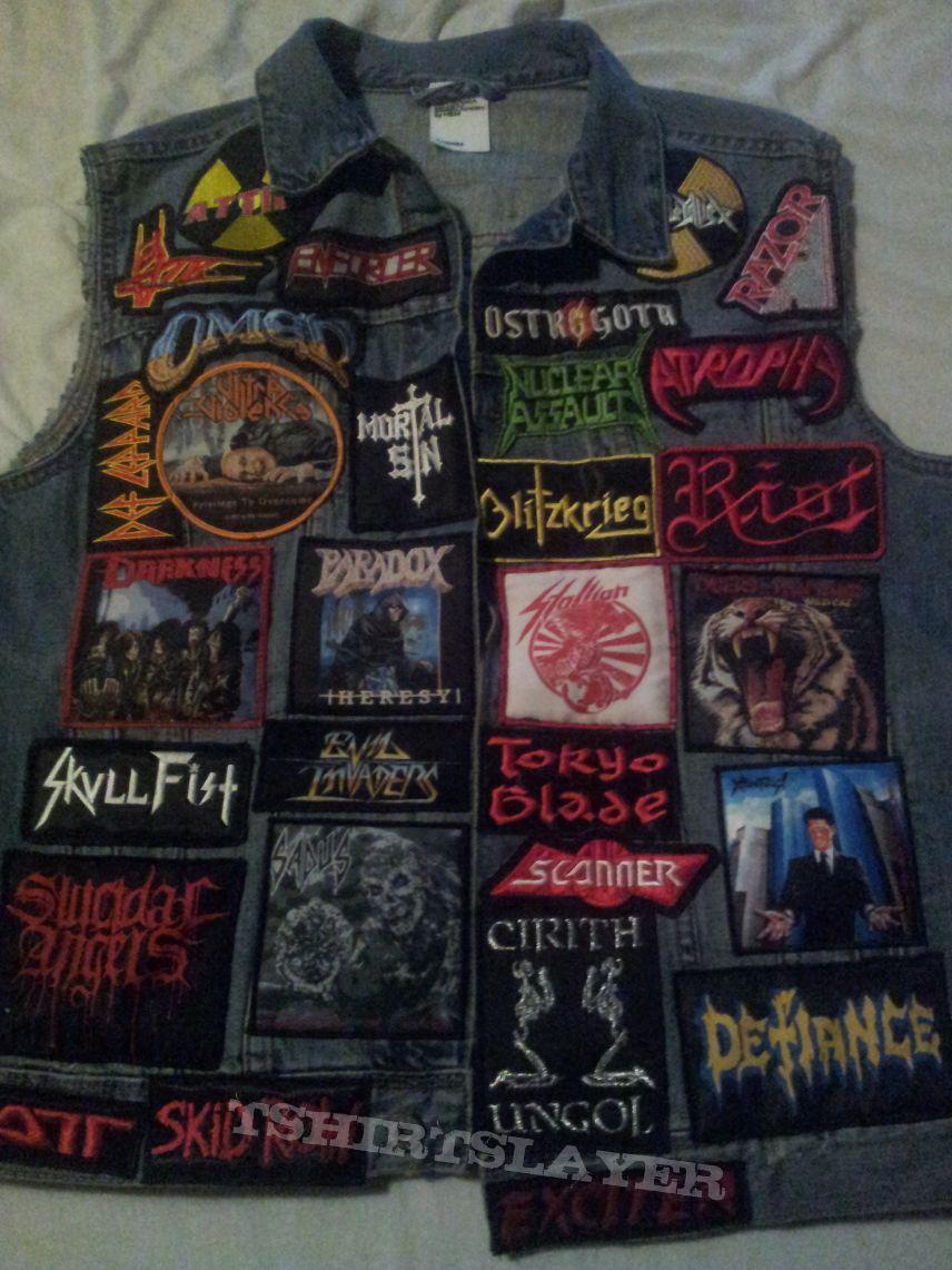 Battle vest so far, still working on it