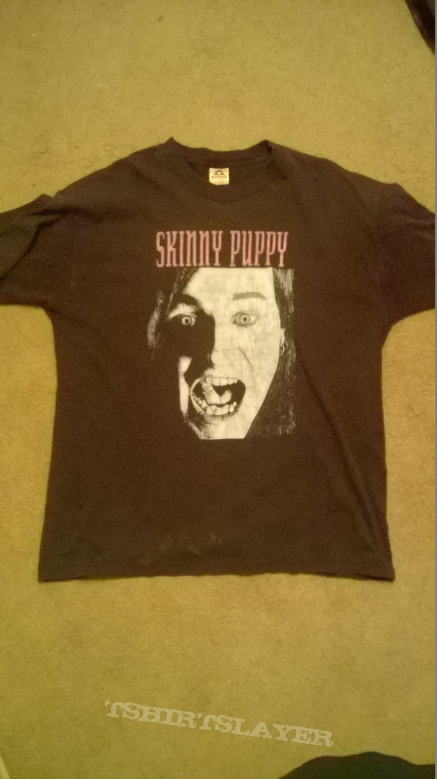 Skinny Puppy Screaming Face