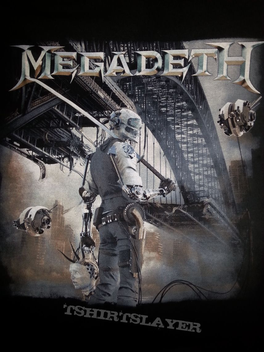 megadeth dystopia 2015 tour shirt tshirtslayer tshirt and battlejacket gallery. Black Bedroom Furniture Sets. Home Design Ideas