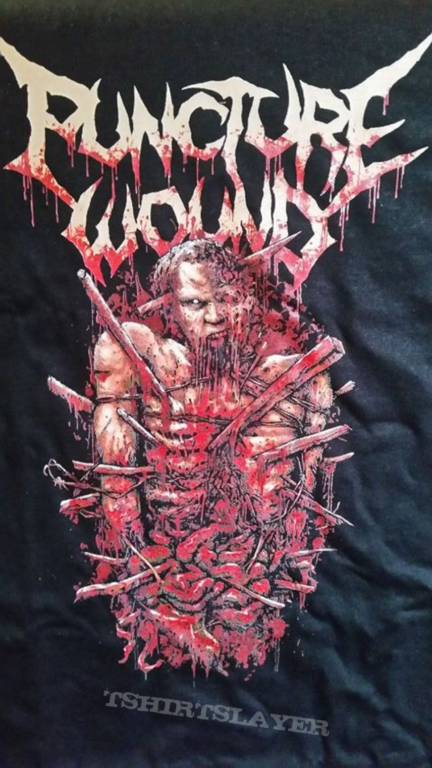 Puncture Wound - Punctured and wounded shirt