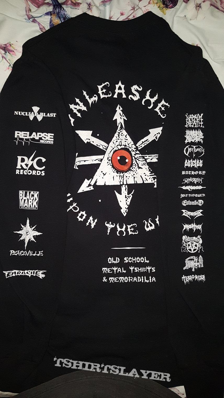 Old School Metal and Memorabilia tribute longsleeve