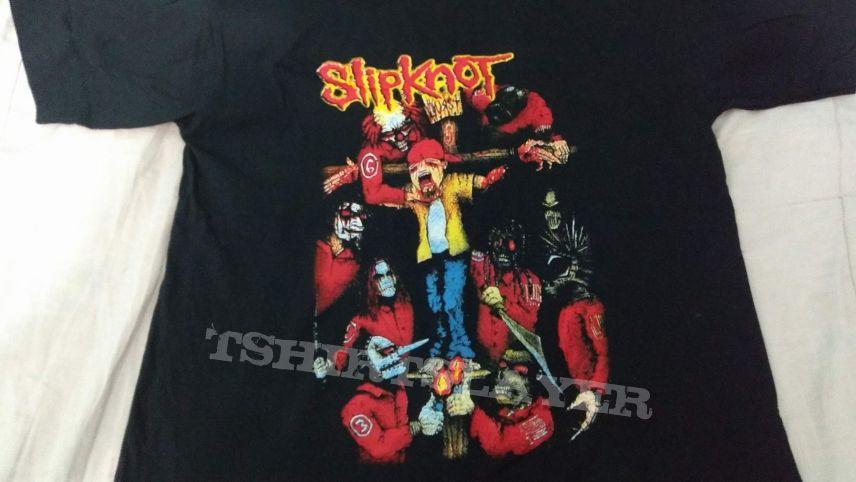 t-shirt - slipknot - durst