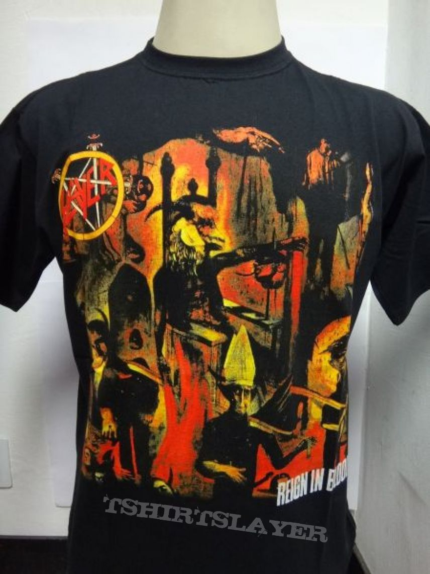 t-shirt Slayer - Reign in Blood