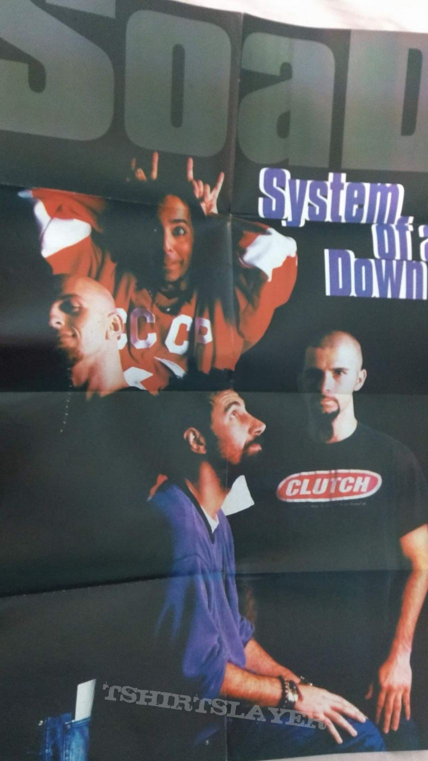 poster - system of a down