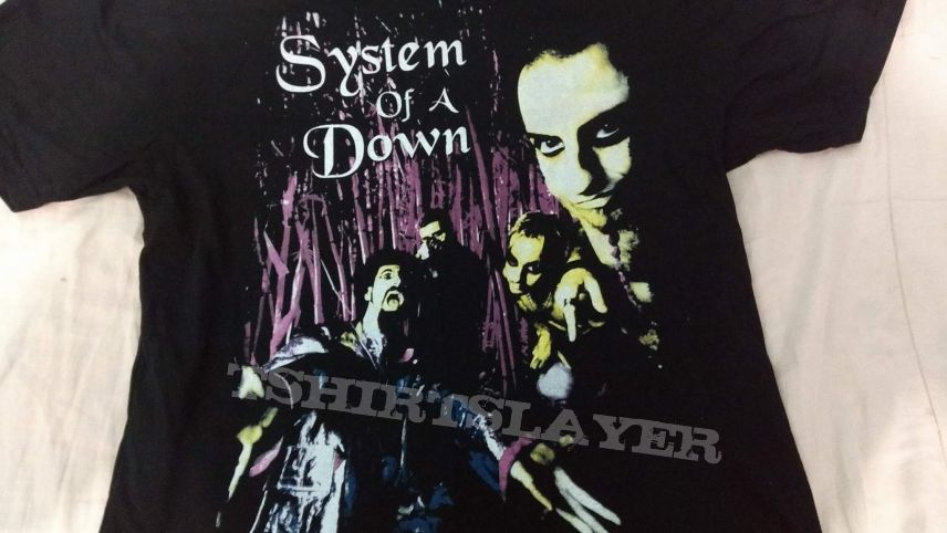 t-shirt - system of a down
