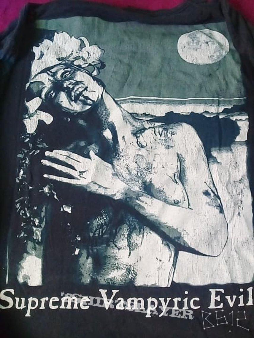Long sleeve cradle of filth - supreme vampyric evil - signed by Dani Filth