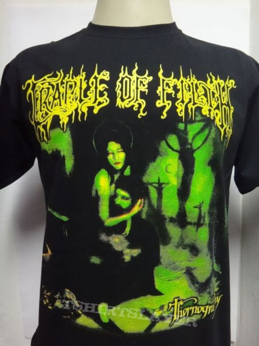 t-shirt Cradle Of Filth - Thornography