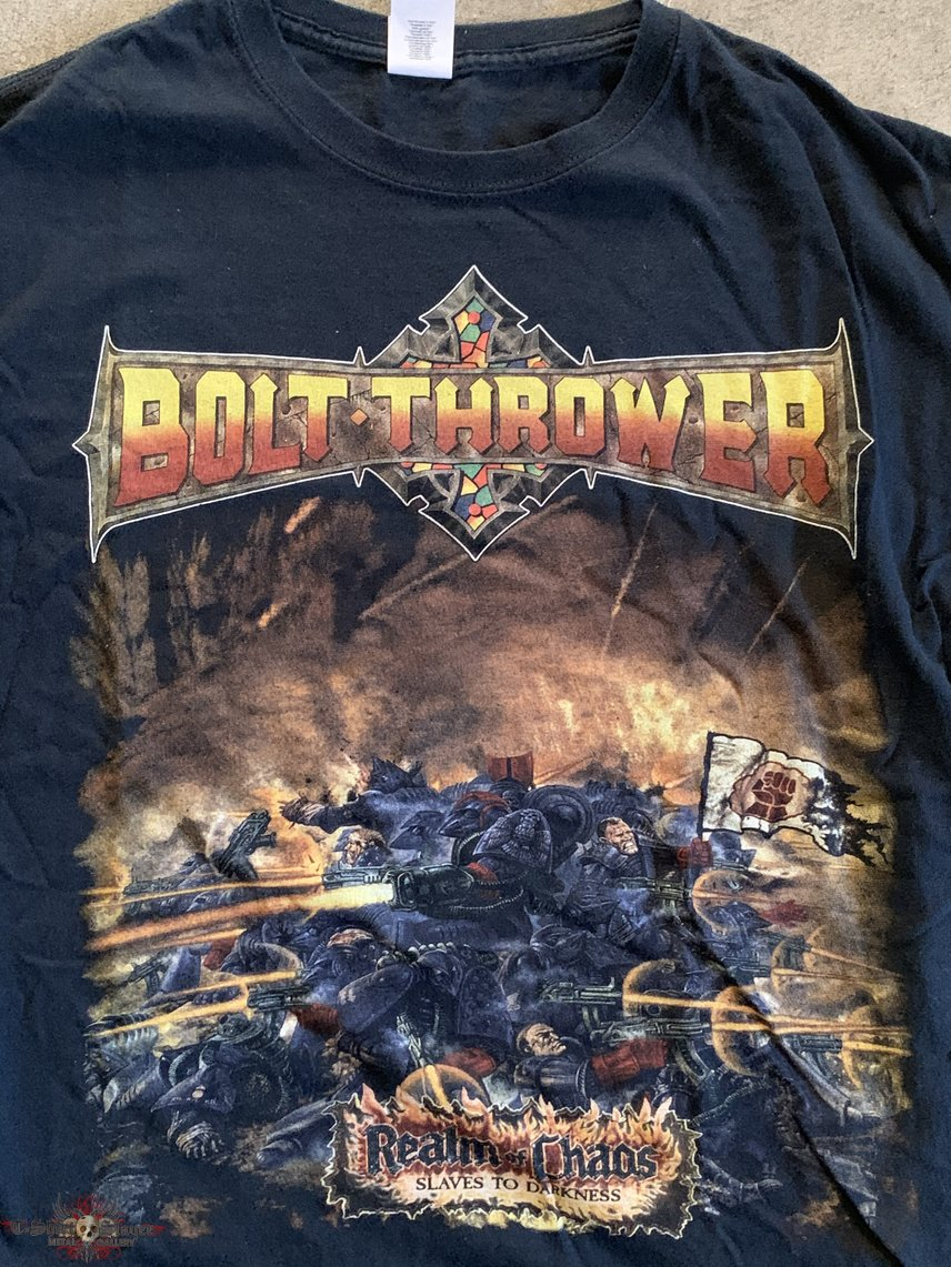 """Bolt Thrower """"Realm of Chaos"""" bootleg size L"""