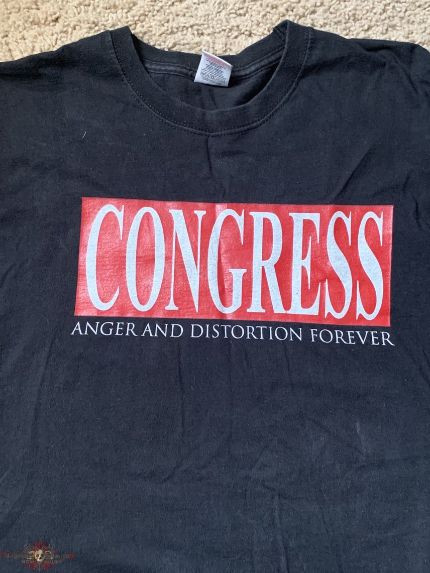 "Congress ""Anger and Distortion..."" shirt"