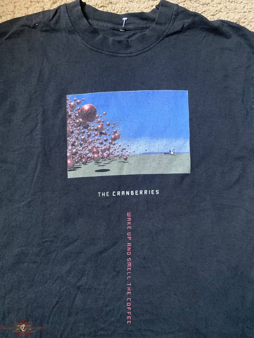 "The Cranberries ""Wake Up and Smell the Coffee"" tour shirt"