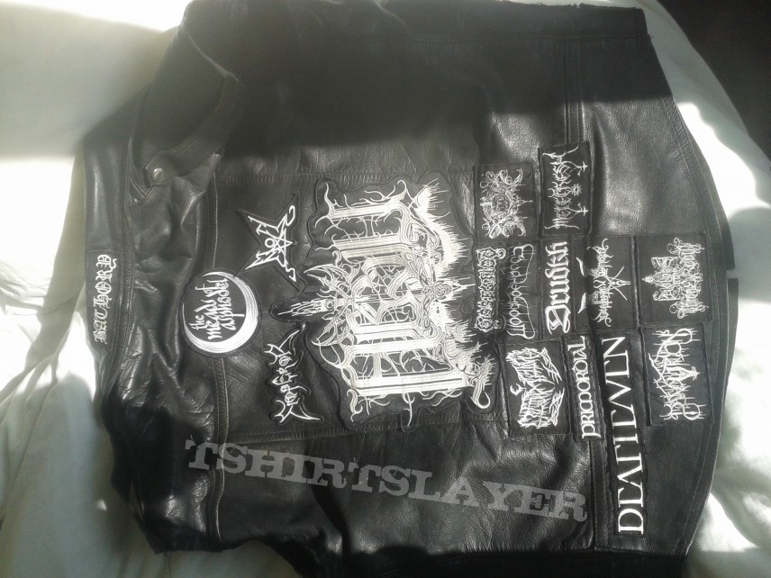 Battle Jacket in Progress