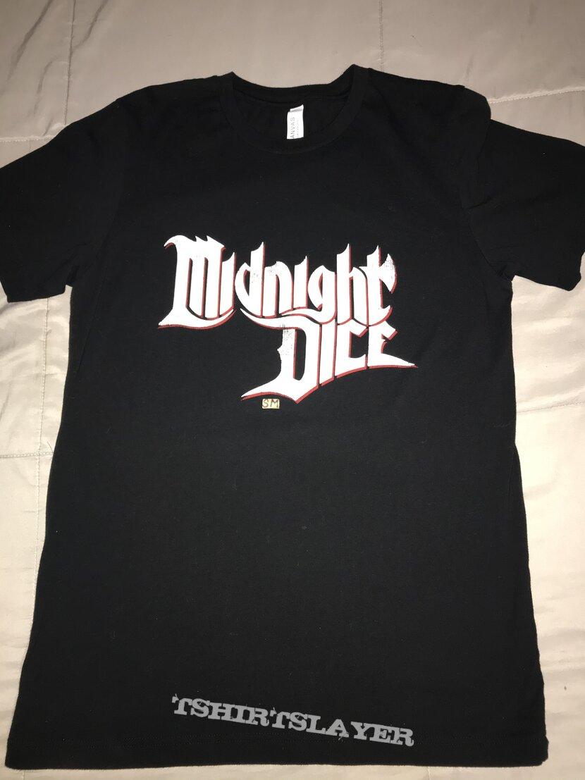 Midnight Dice band logo shirt