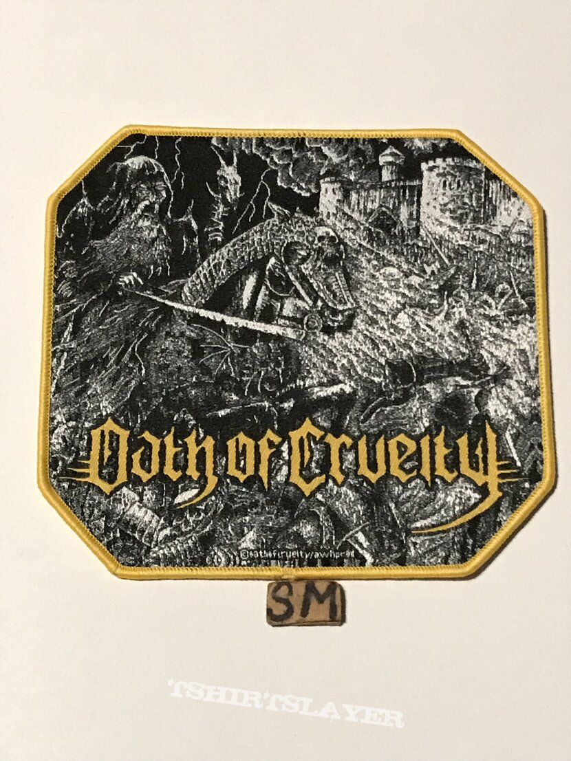 Oath Of Cruelty Summary Execution At Dawn patch gold border