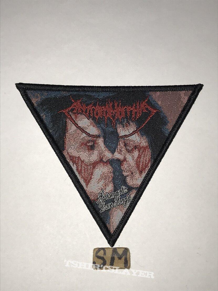 Anthropomorphia Necromantic Love Songs triangle patch