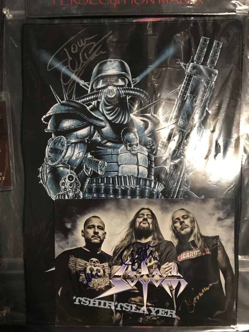 Sodom Knarrenheinz back patch signed