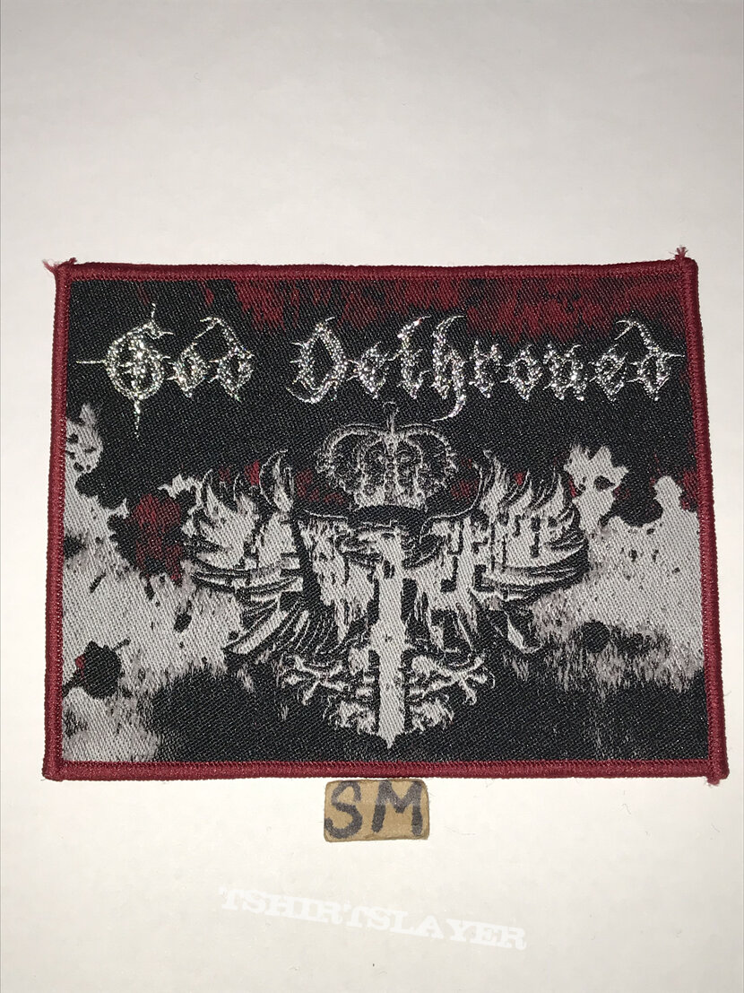 God Dethroned Passiondale patch red border