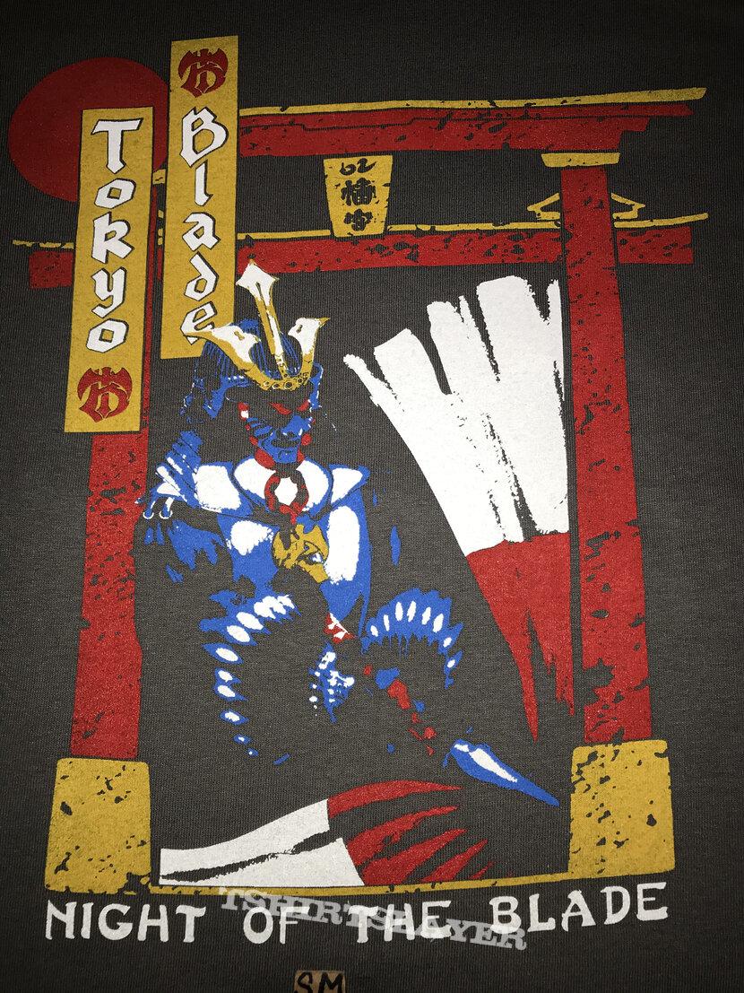 Tokyo Blade Night Of The Blade shirt