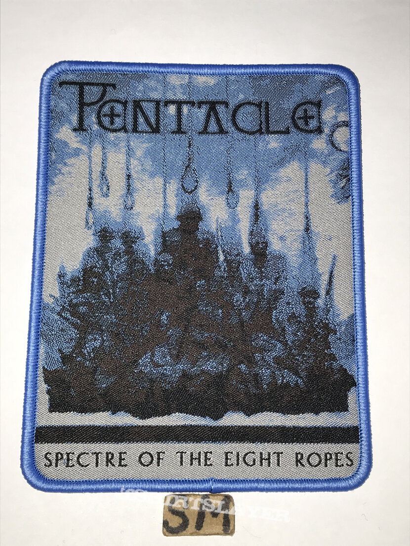 Pentacle Spectre Of The Eight Ropes patch blue border