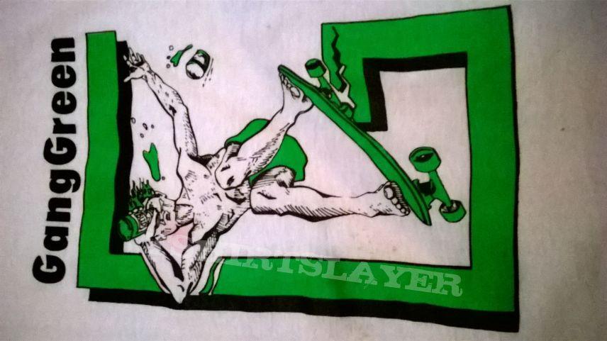 GANG GREEN vintage skater t-shirt