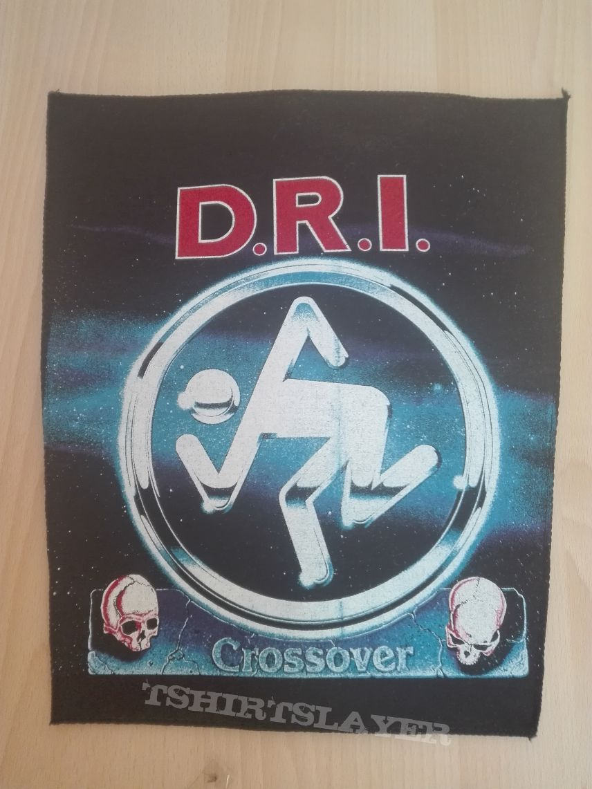 "D.R.I. ""Crossover"" backpatch"