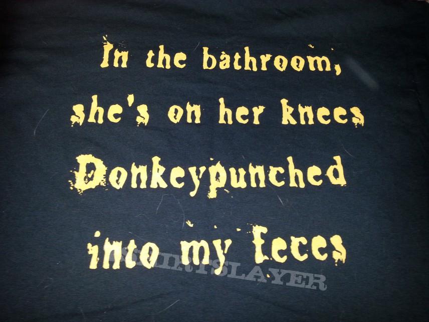 """Syphilic - """"Donkeypunched"""" - Tshirt"""
