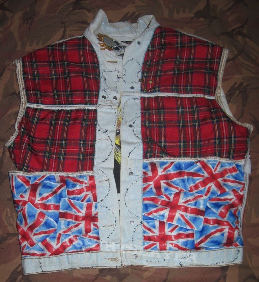 Tommys' Battle Jacket - completed at last.