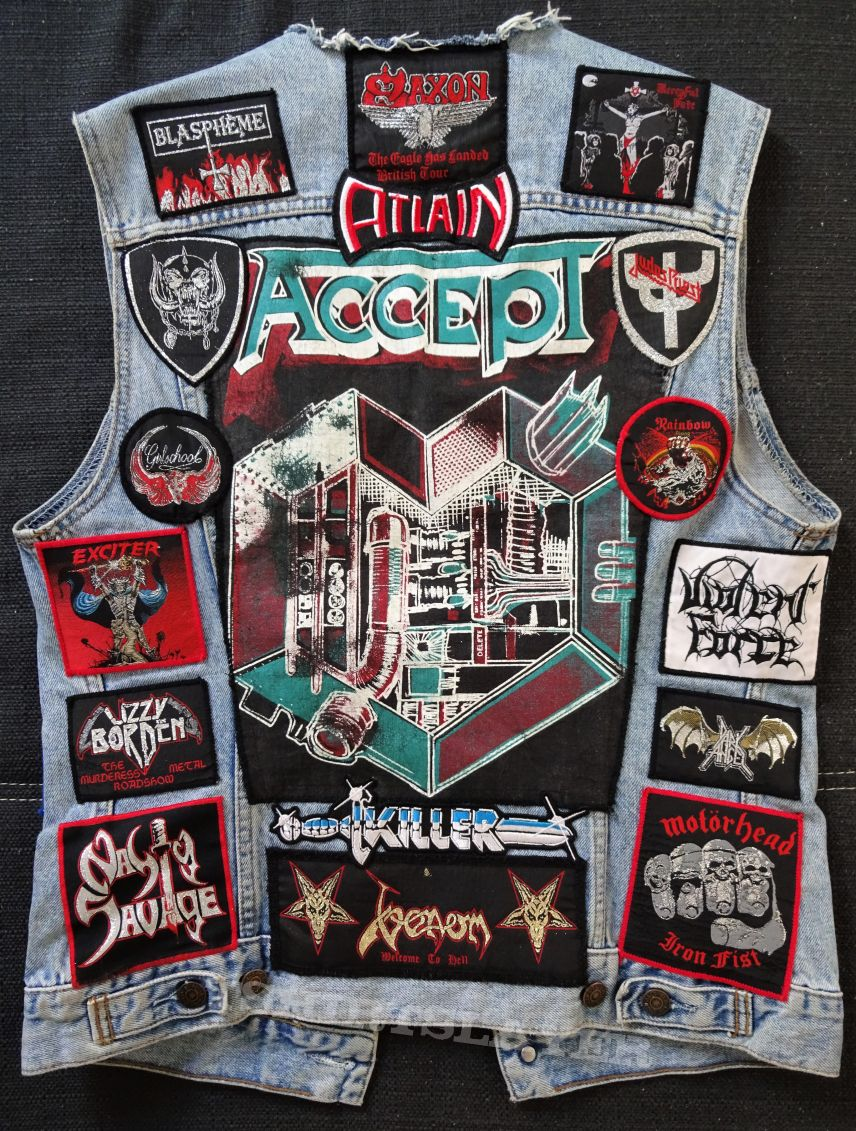 My metal vest Heavy/ Speed/ Thrash, March 7 2018 [Update]