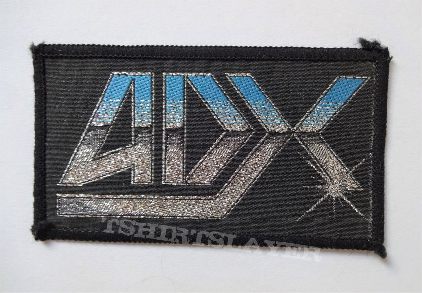 ADX Vintage 80s woven logo patch