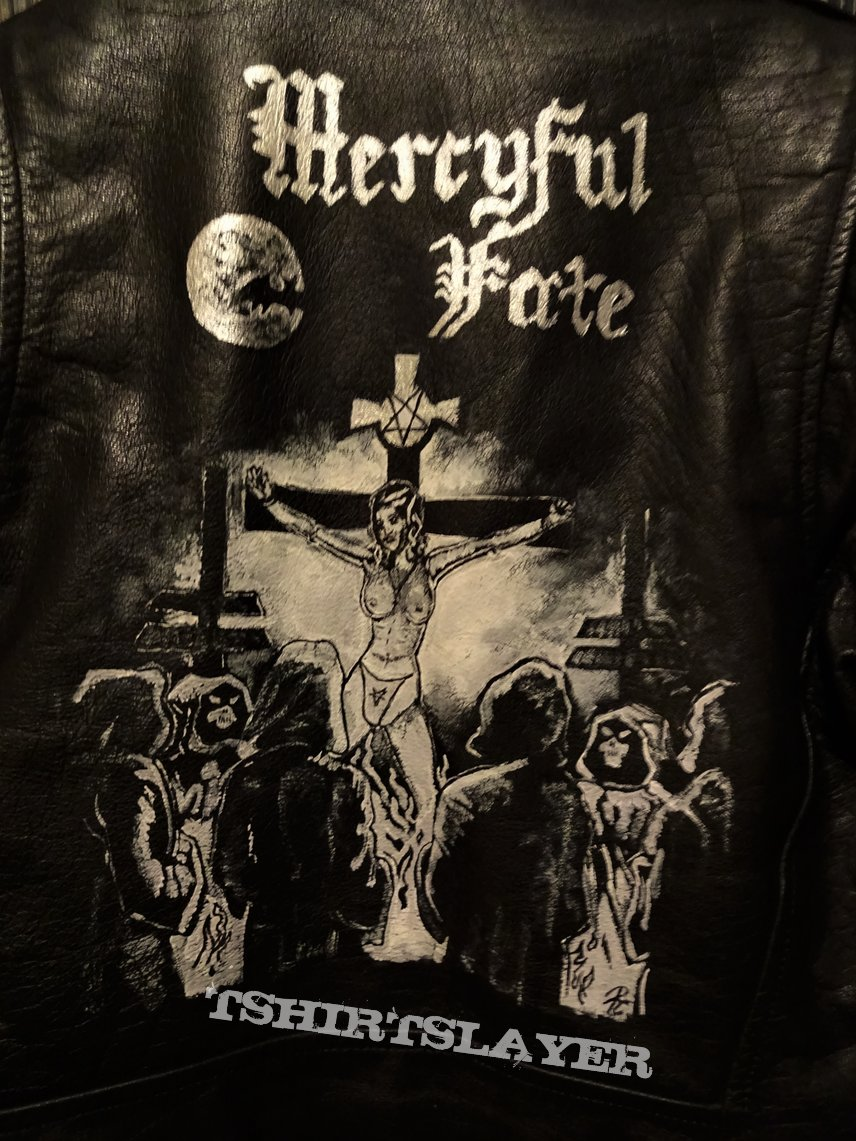 Mercyful Fate Nuns Have No Fun handpainted leather- jacket